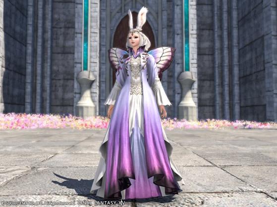 Capture d'écran de la Tenue Mheg Deaca FFXIV - Final Fantasy XIV