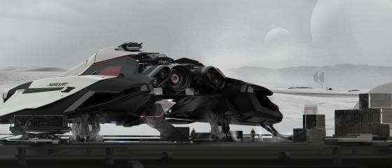 Le premier vaisseau de la marque Crusader Industries fera son apparition en 3.11. - Star Citizen