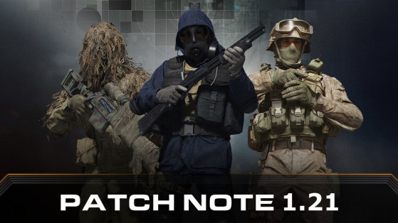 Call of Duty Modern Warfare Warzone : mise à jour, patch note 1.21 PS4, Xbox One et PC