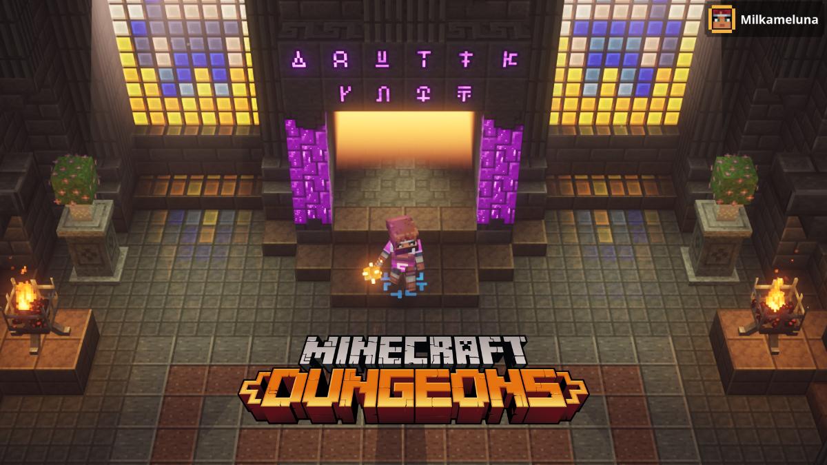 Minecraft Dungeons Runes Secretes Ou Les Trouver Millenium