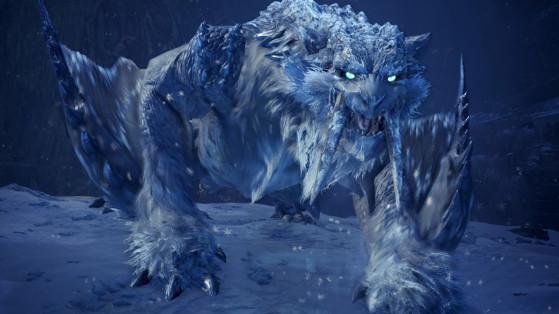 MHW Iceborne : Barioth crocgivre, monstre