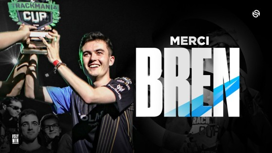 Trackmania : Bren quitte Solary