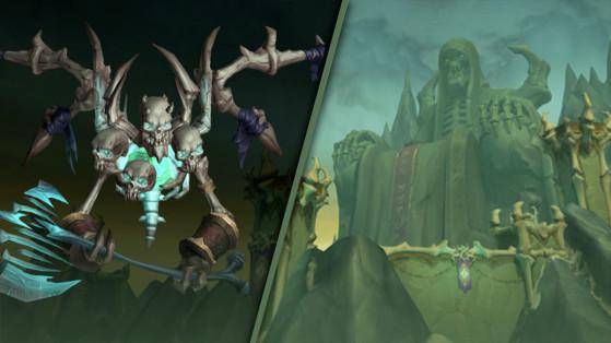 WoW Shadowlands World Boss : Mortanis