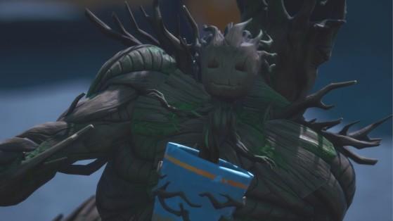 Fortnite : sauver Groot arbrisseau, pépinière à Holly Hedges