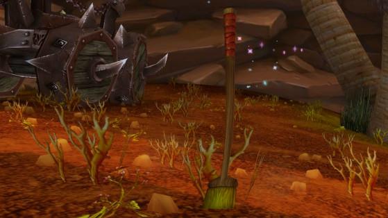 Le Balai anti-désastre - World of Warcraft