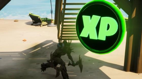 Fortnite : pièces XP semaine 3 saison 4, où les trouver