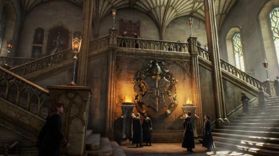 Intérieur du château de Poudlard - Harry Potter Hogwarts Legacy