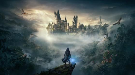 Fond d'écran officiel du jeu - Harry Potter Hogwarts Legacy
