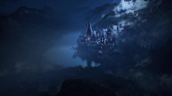 Le célèbre château de Poudlard - Harry Potter Hogwarts Legacy