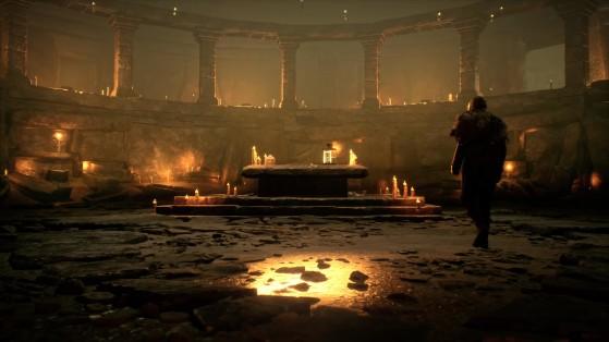 Une sorte d'autel de magie noire... - Harry Potter Hogwarts Legacy
