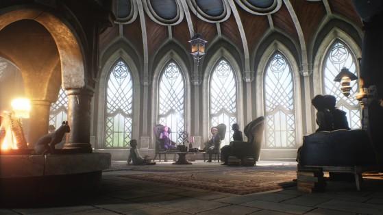 La salle commune des Serdaigle ? - Harry Potter Hogwarts Legacy