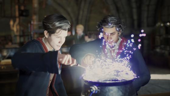 Cours de potions - Harry Potter Hogwarts Legacy
