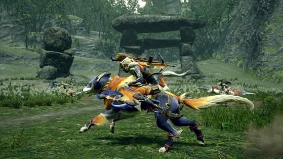 Monster Hunter Rise : Chien, Chumsky, Palamute, monture