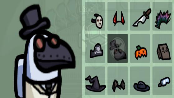 Among Us : Chapeaux Halloween gratuits du 1er octobre, Plague Doctor Hat