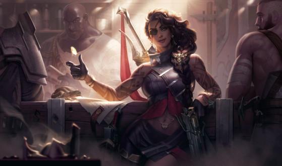 Eh oui, la carrière de Samira au sein de Noxus est une volonté de LeBlanc - League of Legends