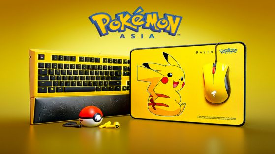Razer sort du matériel à l'effigie de la mascotte de Pokémon