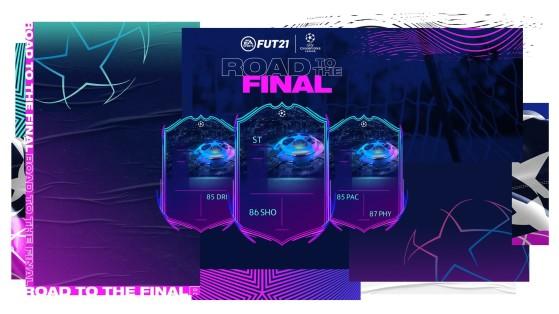 FUT 21 - Road To The Final 1 (RTTF), l'équipe complète