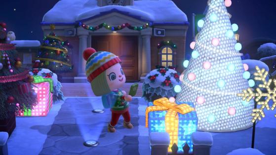 Jour des Cadeaux en décembre et liste des meubles sur Animal Crossing: New Horizons