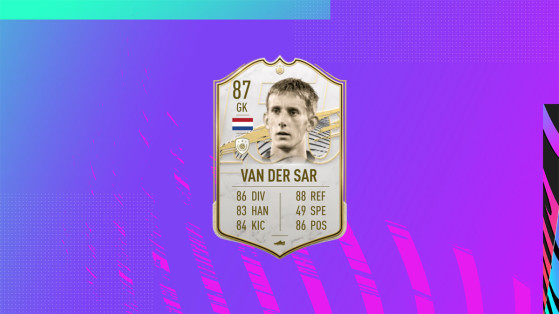 FUT 21 - Solution DCE Van Der Sar BABY