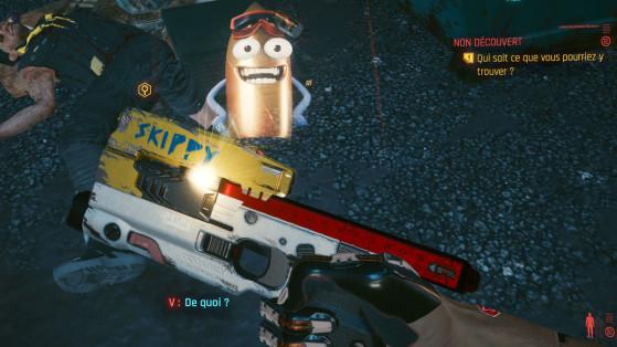 Arme Cyberpunk 2077 : Comment obtenir Skippy, le meilleur pistolet