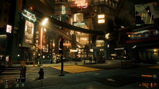 Preset Deus Ex Human Revolution - Cyberpunk 2077