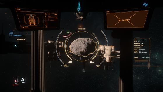 Star Citizen patch 3.12 : Refonte de l'interface de minage