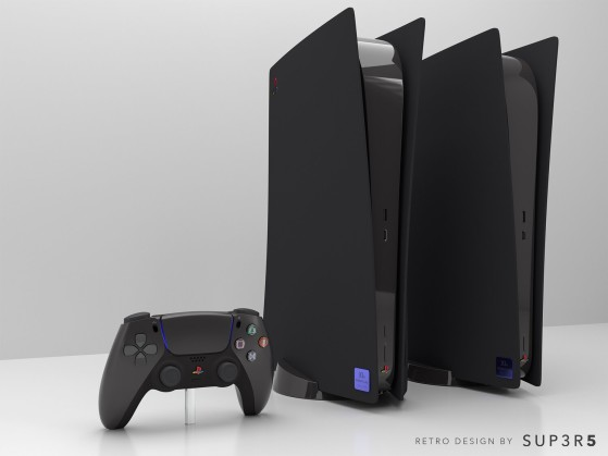 Une PS5 style PS2