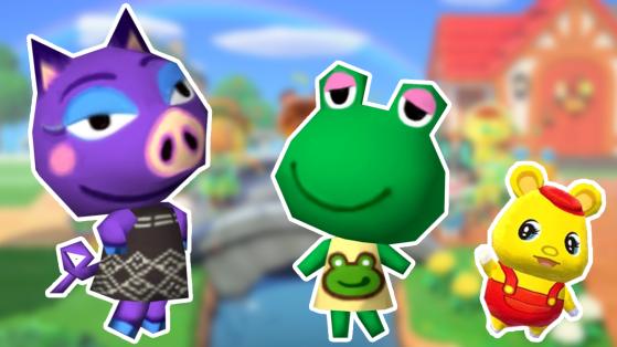 87 villageois qui auraient pu être dans Animal Crossing New Horizons