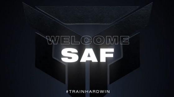 Fortnite : Saf signe chez TrainHard eSport