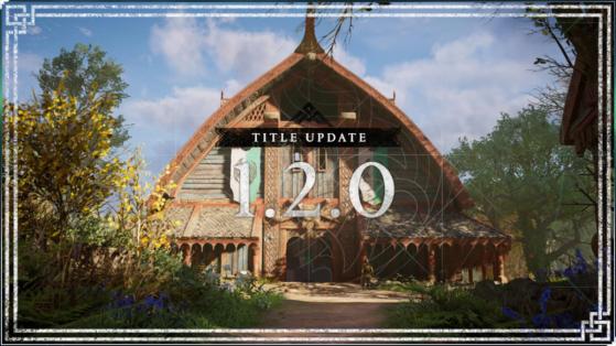 Mise à jour 1.2.0 sur Assassin's Creed Valhalla