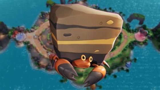 Crabaraque (Crustle) Pokémon Unite : build, attaques, objets et comment le jouer