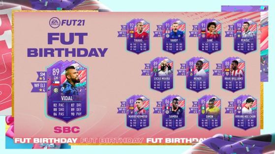 FUT 21 - Solution DCE - Vidal Birthday