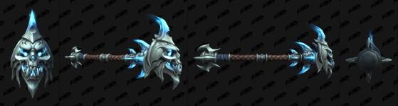 Masse à deux mains du Geôlier - World of Warcraft