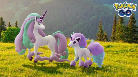 Etude ciblée Pokemon GO : Ponyta de Galar revient au mois de juin 2021