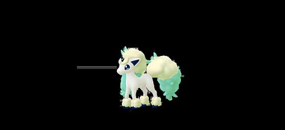 Ponyta de Galar shiny - Pokemon GO