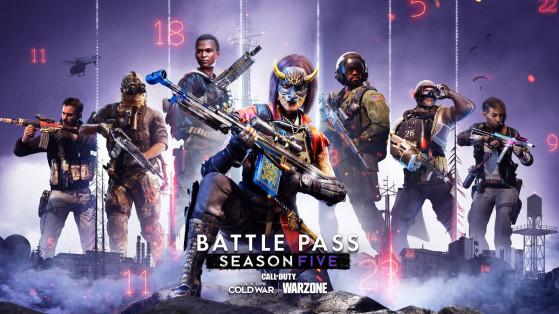 Warzone Black Ops Cold War : le Passe de combat de la saison 5