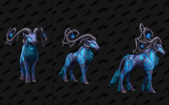 Cerf runique crépusculaire - World of Warcraft