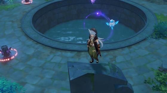 Genshin Impact : puzzle du Lac Suigetsu, débloquer le donjon du Palais de l'étang