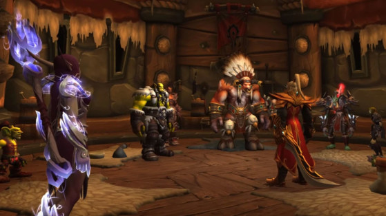 Le Conseil de la Horde - World of Warcraft