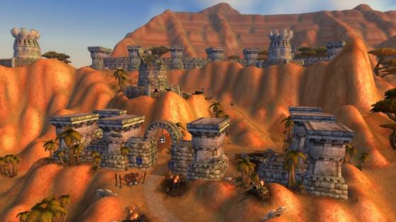 Le Fort de Guet-du-Nord, position stratégique de l'Alliance aux Tarides - World of Warcraft