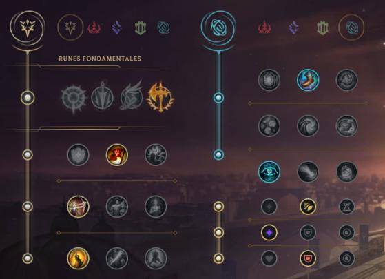 Runes pour Lee Sin Jungle - League of Legends