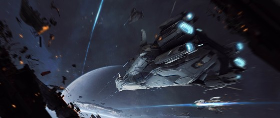 En vol - Star Citizen
