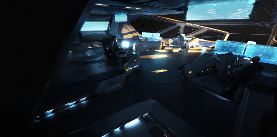 La passerelle - Star Citizen