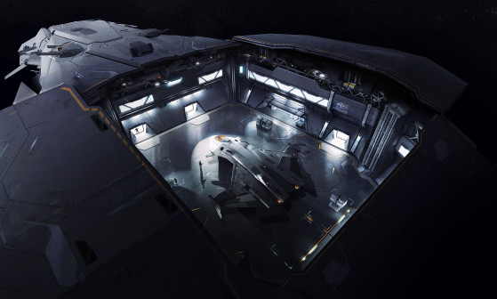 Le hangar - Star Citizen