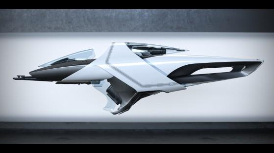 L'image concept du X1 Base - Star Citizen