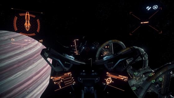 La vue du pilote - Star Citizen