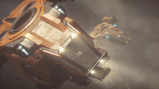 Gros plan sur le cockpit - Star Citizen