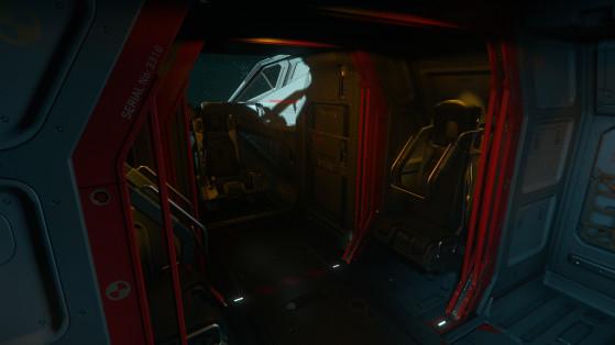 Le cockpit et les sièges passagers - Star Citizen