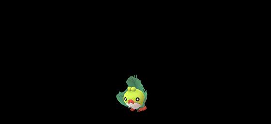 Larveyette shiny - Pokemon GO