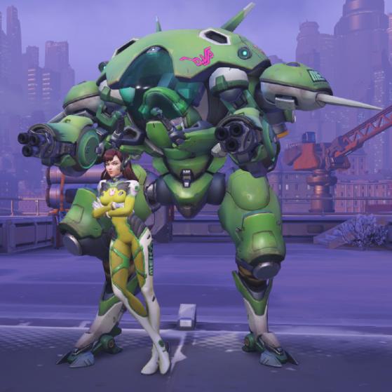 Citron vert - Overwatch